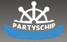 Logo Partyschip Abel Tasman