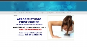 logo Aerobic Studio First Choice