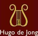Logo Hugo de Jong piano's & vleugels