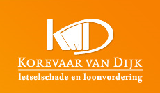 Logo Korevaar Van Dijk Letselschade BV