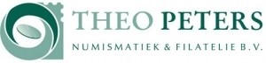 Logo Theo Peters Numismatiek & Filatelie B.V.