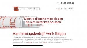 logo Begijn Aannemingsbedrijf Henk