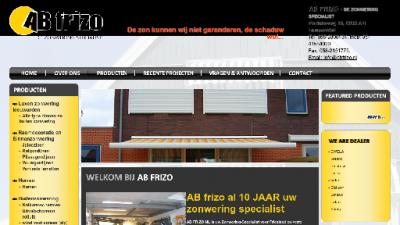 logo AB Frizo Zonwering