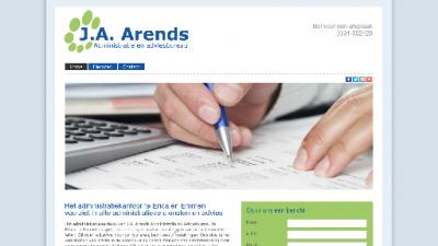 logo Administratie en Adviesbureau Arends J A