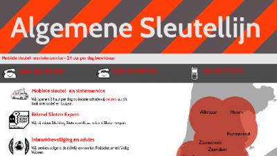 logo Algemene Sleutellijn, Slotenmaker  De