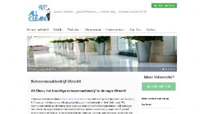 logo All Clean Schoonmaak- en Bedrijfsdiensten