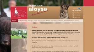 logo Hondenschool Aloysa