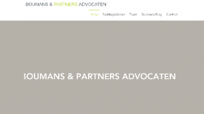 logo Boumans & Partners Advocaten