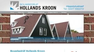 logo Hollands Kroon Bouwbedrijf