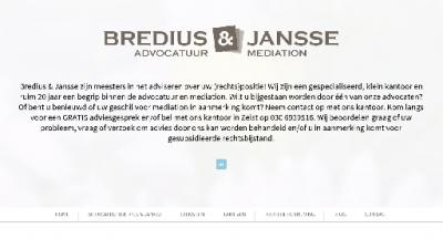 logo Bredius & Jansse Advocatuur en Mediation