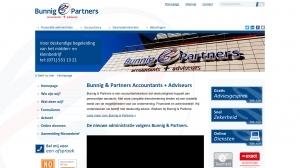 logo Bunnig & Partners BV accountants  + adviseurs