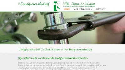 logo Loodgietersbedrijf Ch Smit & Zn
