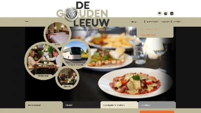 logo Gouden Leeuw Hotel Restaurant  De