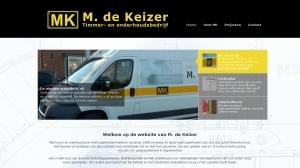 logo Timmer- en Onderhoudsbedrijf M de Keizer
