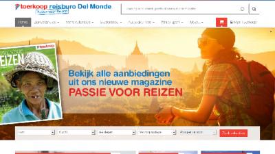 logo Reisbureau  Del Monde Toerkoop