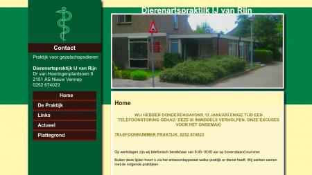 Rijn Dierenarts  IJ van
