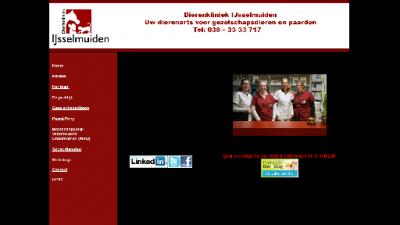 logo Dierenarts  Dierenkliniek IJsselmuiden