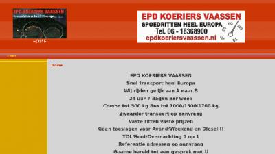 logo Epd Koeriers Vaassen