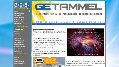 logo Gé Tammel Zonweringen