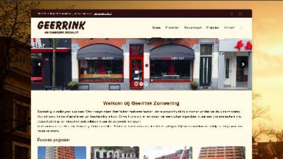 logo Geerrink Zonwering  24 uurs Service