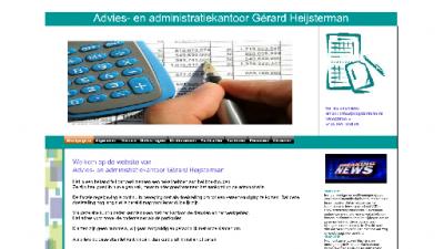 logo Advies- en Administratiekantoor  Gerard Heijsterman