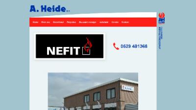 logo Heide BV Loodgietersbedrijf A
