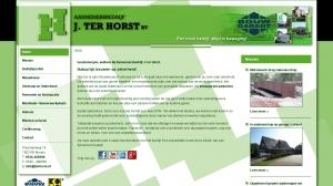 logo Horst BV Aannemersbedrijf J ter