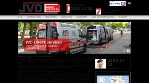 logo JVD Direct Services BV - loodgieter  cv en riool specialist