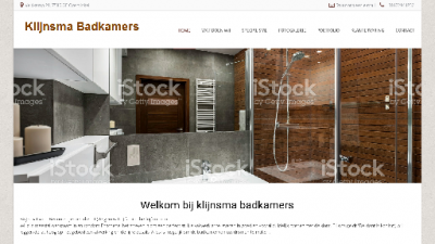 logo Klijnsma Badkamers en Tegelwerken B & J