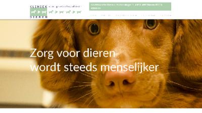 logo Kliniek voor Gezelschapsdieren