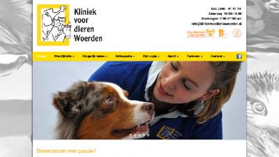 logo Dierenartsenpraktijk Kliniek voor Dieren Woerden