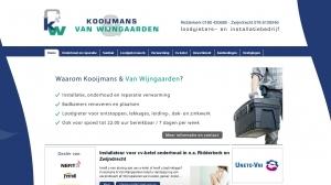 logo Kooijmans Loodgieters  & Van Wijngaarden Loodgietersbedrijf
