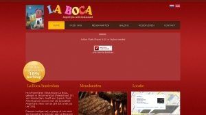 logo Argentijns Restaurant La Boca