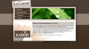 logo Cocon Beautysalon Le