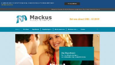 logo Mackus VOF Verzekeringen Hypotheken Reizen
