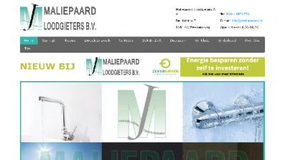 logo Maliepaard Loodgieters  BV