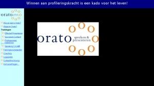 logo ORATO spreken en presenteren