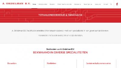 logo Ordelman BV Loodgieters  & Installatiebedr