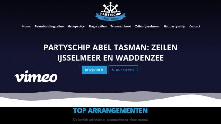 Partyschip Abel Tasman