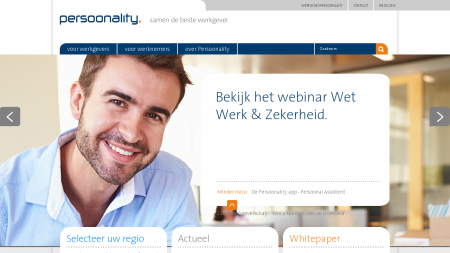 Persoonality Payrolling Payroll Loonadministratie