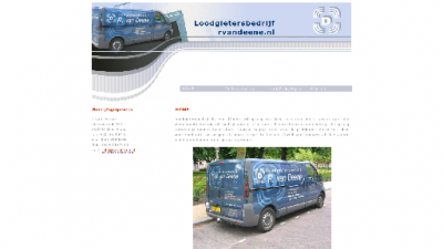 logo Loodgietersbedrijf R A van Deene