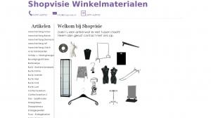 logo Shopvisie Winkelmaterialen