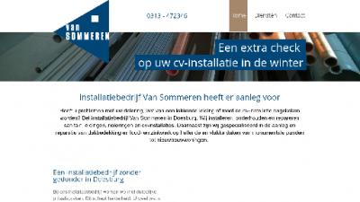 logo Sommeren BV Loodgieter  CV Installatie Van