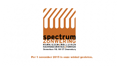 logo Spectrum Zonwering