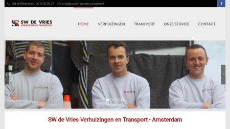 SW de Vries Verhuizingen