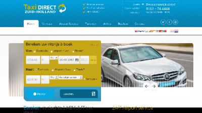 logo Taxi  Direct Zuid Holland
