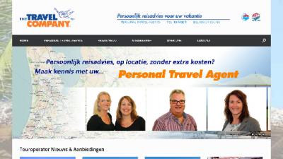 logo Travel Company Reisbureau  van Boesschoten The