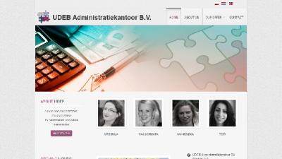 logo Udeb Administratiekantoor  BV