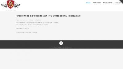 logo Stucadoor - en Restauratiebedrijf RVB