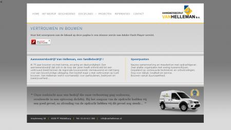 Helleman BV Aannemersbedrijf Van